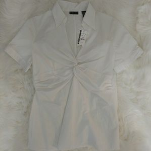 NWT New York and Company Twist Blouse